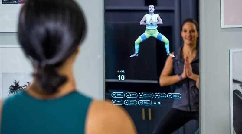 hi-tech fitness specchio